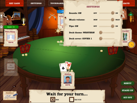 Saloon Poker (iPad)